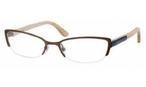 Alexander McQueenAlexander McQueen AMQ 4183 Eyeglasses 0WCU Matte Brown / Blue