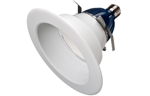 "Cree Cr6-800L-40K-12-E26 12 Watt 12W 6"" Led Downlight E26 Base 800 Lumens 120V 4000K"