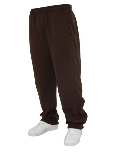 Urban Classics -  Pantaloni  - relaxed - Uomo marrone M