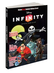 Limited Edition Cover Disney Infinity Official Game Guide