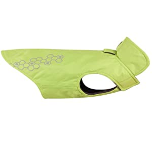 RC Pet Products Venture Outerwear Dog Rain Coat, Size 12, Lime Punch