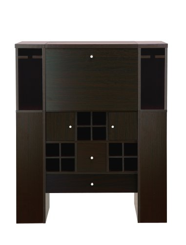Enitial Lab Tuscan Modern Sideboard Dining Buffet, Cappuccino front-560310
