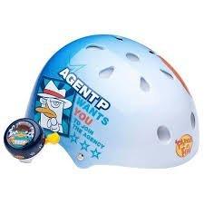 Disney Pixar Disney Phineas & Ferb Helmet w/Bell - 1