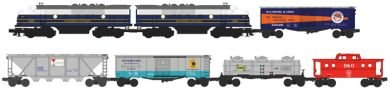 Williams By Bachmann Trains Timesaver Fast Freight Train Set (B And O)