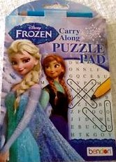 Disney Frozen Carry Along Puzzle Pad - 1