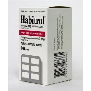 Habitrol Gum 2 mg FRUIT 12 Boxes 1152 Pieces