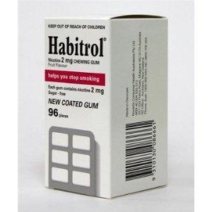 Habitrol Gum 2 mg FRUIT 12 Boxes 1152 Pieces