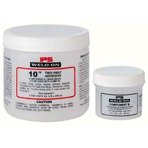 Weld-On 10 Two-Part High Strength Plastics Adhesive