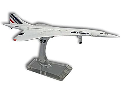 Air france f-bVFB-concorde-échelle 1:20 0–metallmodell avec châssis