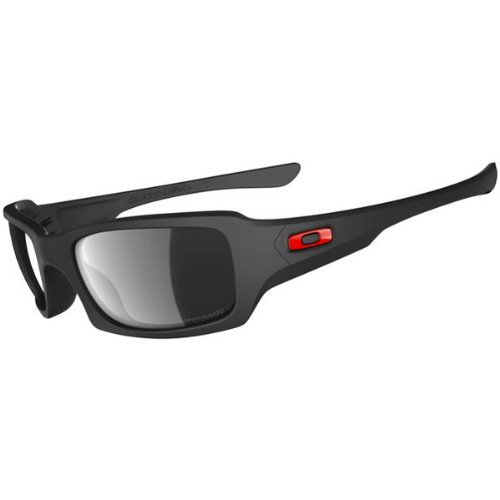 Oakley Fives Squared Men's Polarized Special Editions Ducati Casual Sunglasses – Color: Matte Black/Black Iridium, Size: One Size Fits All