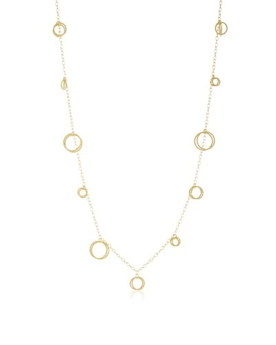 Argento Vivo Circles & Chains Necklace