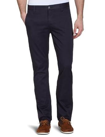 Dockers Men's Alpha Khaki Original Slim Trousers, Midnight, 29W/30L