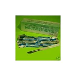 Scalpel #10 w/Stainless Steel Blade (Box of 10)