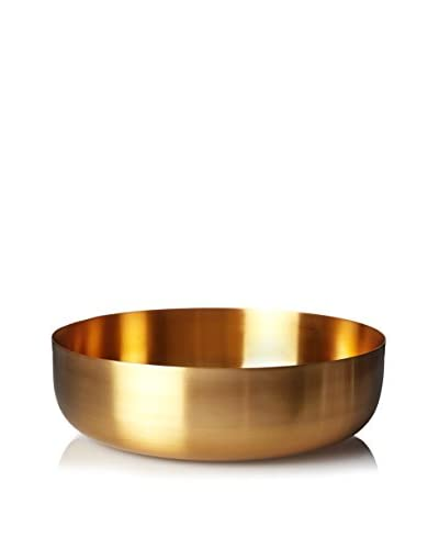 Calvin Klein Collection Radiant Bowl, Burnished Gold