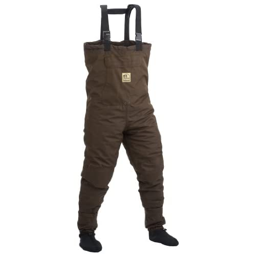 Hodgman pond hollow insulated stockingfoot for Fishing waders amazon