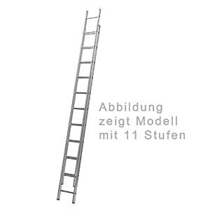 Aluminium Schiebeleiter 2teilig 2 x 13 Stufen  BaumarktKundenbewertung und Beschreibung