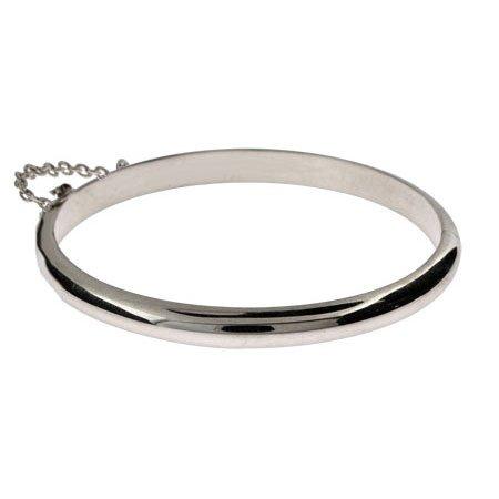 Sterling Silver Baby Bangle Bracelet