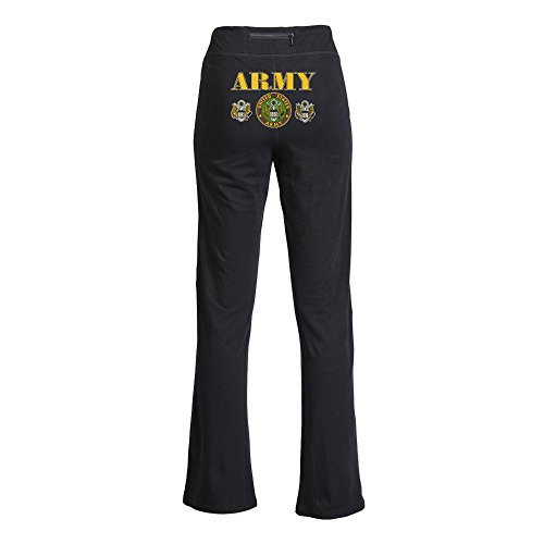 Royal Lion Yoga Pants United States Us Army Military Seal - Medium
