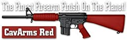 Lauer Custom Weaponry DCBK142 DuraCoat Beginners Kit - CavArms Red