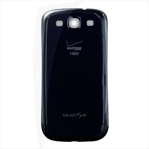 Original Genuine OEM Battery Rear Back Cover Door For Verizon Samsung i535 Galaxy S3 4G LTE - Blue (Blue Samsung Galaxy S3 compare prices)