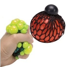 Squishy Mesh Ball Assorted Colors : Amazon.com: Squishy Mesh Ball Assorted Colors: Toys & Games