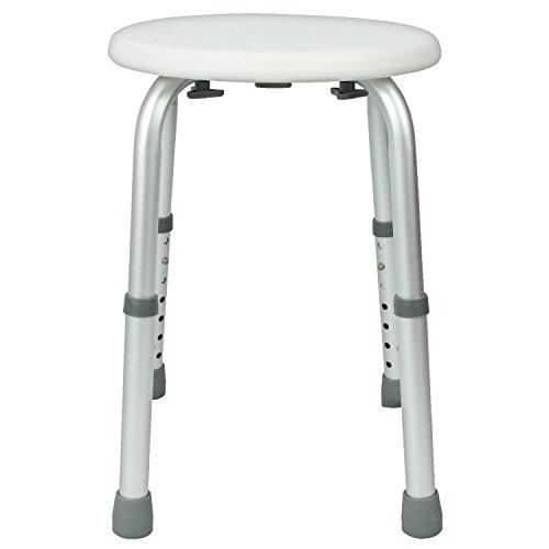 Shower Stool By Vive Adjustable Bath Seat Lightweight Portable Chai