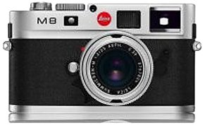 Leica M8 10.3MP Digital Rangefinder Camera with .68x Viewfinder (Black Body Only)