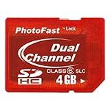 PhotoFast Dual Channel SDHC 4GB SLC (DualCoreSDHC) PF-DDRSDHC4SL