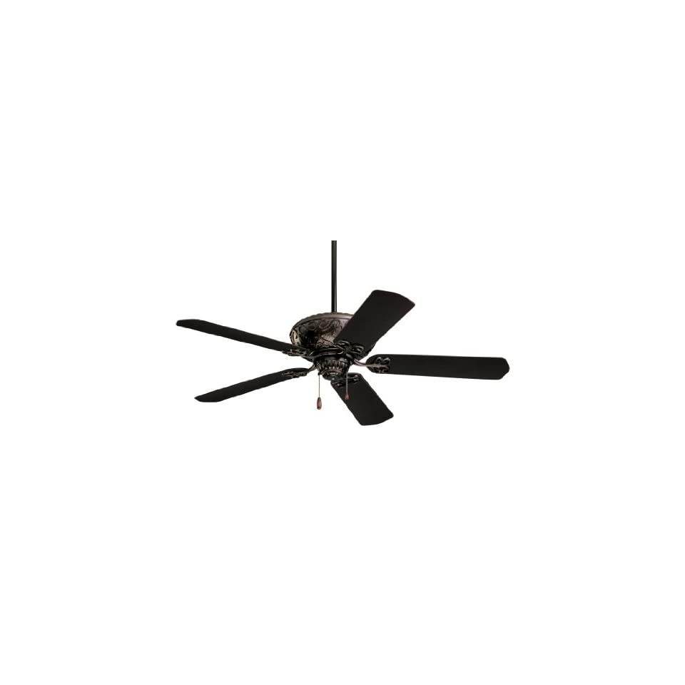 Emerson CF670ORB Devonshire Indoor/Outdoor Ceiling Fan, 52 Inch Blade Span, Oil Rubbed Bronze Finish and All Weather Oil Rubbed Bronze Blades
