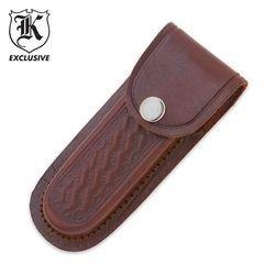 """Budk Leather 5"""" Knife Sheath"""