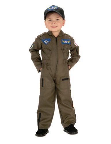 Air Force Fighter Pilot Toddler Costume Kids Boys Costume