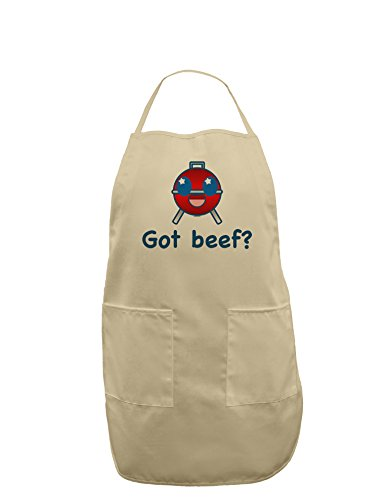 Got Beef Adult Apron - Stone - One-Size