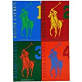 Polo Big Pony Men 4 Piece Gift Set Travel Collection by Ralph Lauren (Tamaño: 0.5 Ounces)