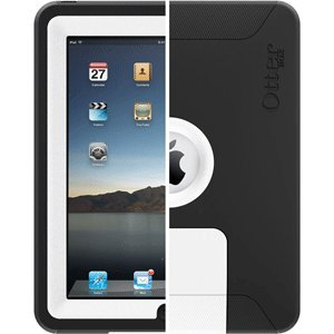 Otterbox Defender Series F/ Apple Ipad White/Black