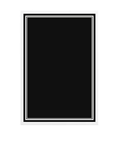 Border III Framed Chalkboard