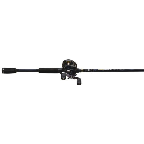 Abu Garcia Silver Max Low Profile Medium Baitcast Combo, 6-Feet 6-Inch (Pack of 1)