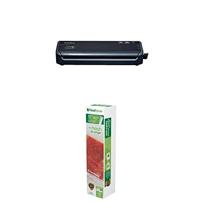 "FoodSaver FM2000-000 Vacuum Sealing System and 11"" Roll Bundle from Jarden Consumer Solutions"