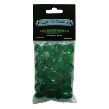 Arcane Tinmen 20204 - Gaming Counter Emerald Green, 30 Stück