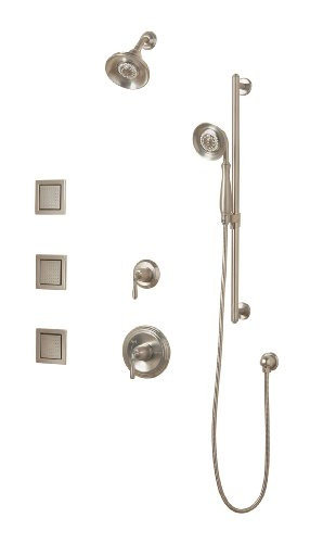 KOHLER K-10855-4-BN Devonshire Luxury Performance Showering Package, Vibrant Brushed Nickel (Kohler Shower Package compare prices)