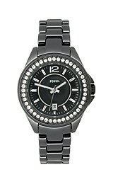 Fossil Riley Mini Ceramic - Black Women's watch #CE1054