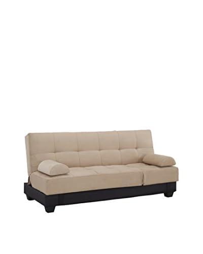 Westport Home Westin Contemporary Sofa Bed, Khaki As You See
