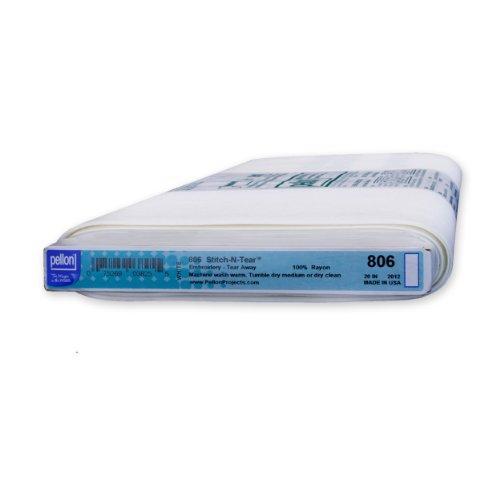 Pellon Stitch-n-Tear 806 - White - 20