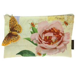Best Cheap Deal for Tokyo Milk Rose with Bees Blossom Cosmetics Bag from Margot Elena - Free 2 Day Shipping Available