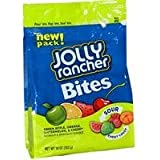 Jolly Rancher Bites Sour & Chewy Candy, 10-Ounce bags (Pack of 4)