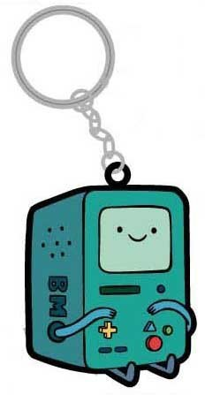 Adventure Time Beemo Rubber PVC Keychain