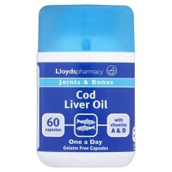 Lloydspharmacy Joints & Bones Cod Liver Oil 60 Capsules
