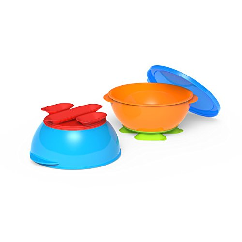 Gerber Graduates Tri-Suction Bowls, 3-Piece Set - 1