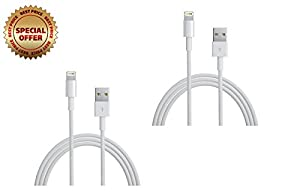 [Apple MFi Certified] 2 pcs Lightning to USB Cable 3ft /0.9m with Ultra-Compact Connector Head for iPhone 6 6Plus 5s 5c 5, iPad Air Air2 mini mini2 mini3, iPad 4th gen, iPod touch 5th gen, and iPod nano 7th gen by Anker