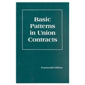 Basic Patterns in Union Contracts