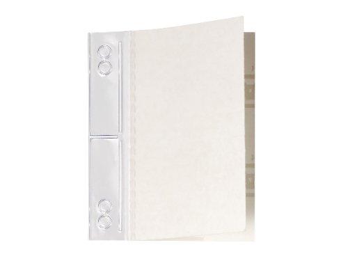Durable 807019 Abheftstreifen Filefix Maxi, selbstklebend, PVC, 60x100mm, transparent, 50St
